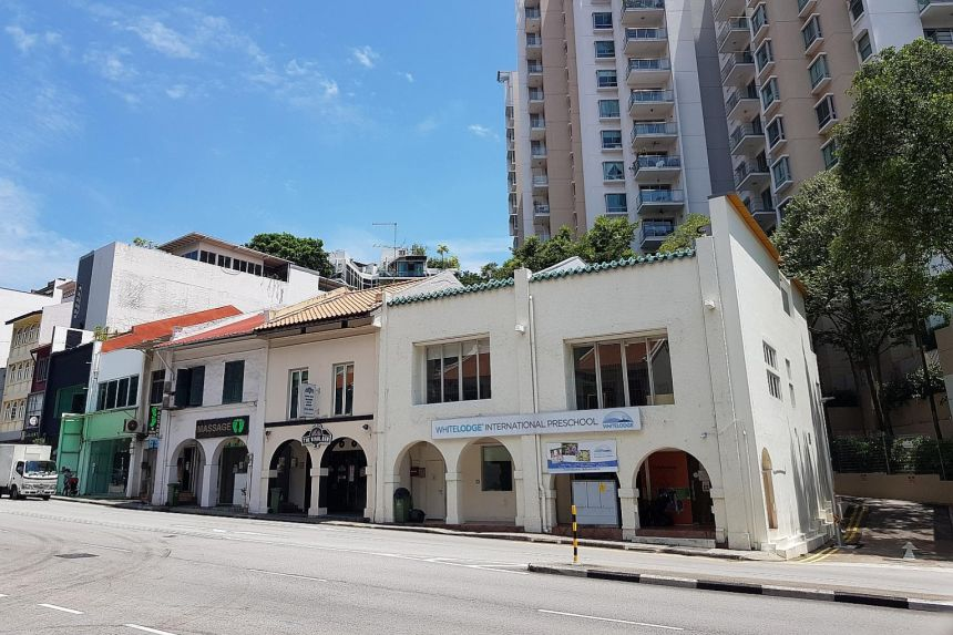 Read more about the article Buyers flocking back into S'pore shophouse market