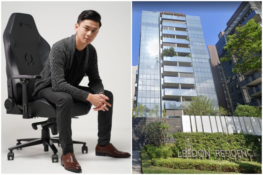 Read more about the article Secretlab gaming chair co-founder Ian Ang snaps up GCB, penthouse for $51m