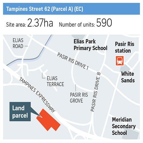Tampines St 62 Parcel A EC GLS